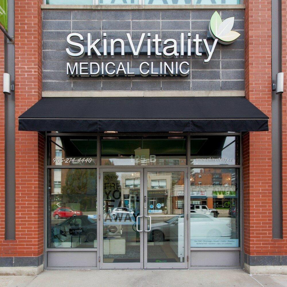 Skin Vitality Mississauga Street View