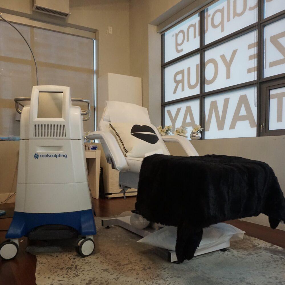 Skin Vitality Mississauga Treatment Room
