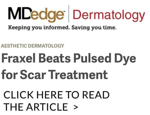 fraxel scar treatment