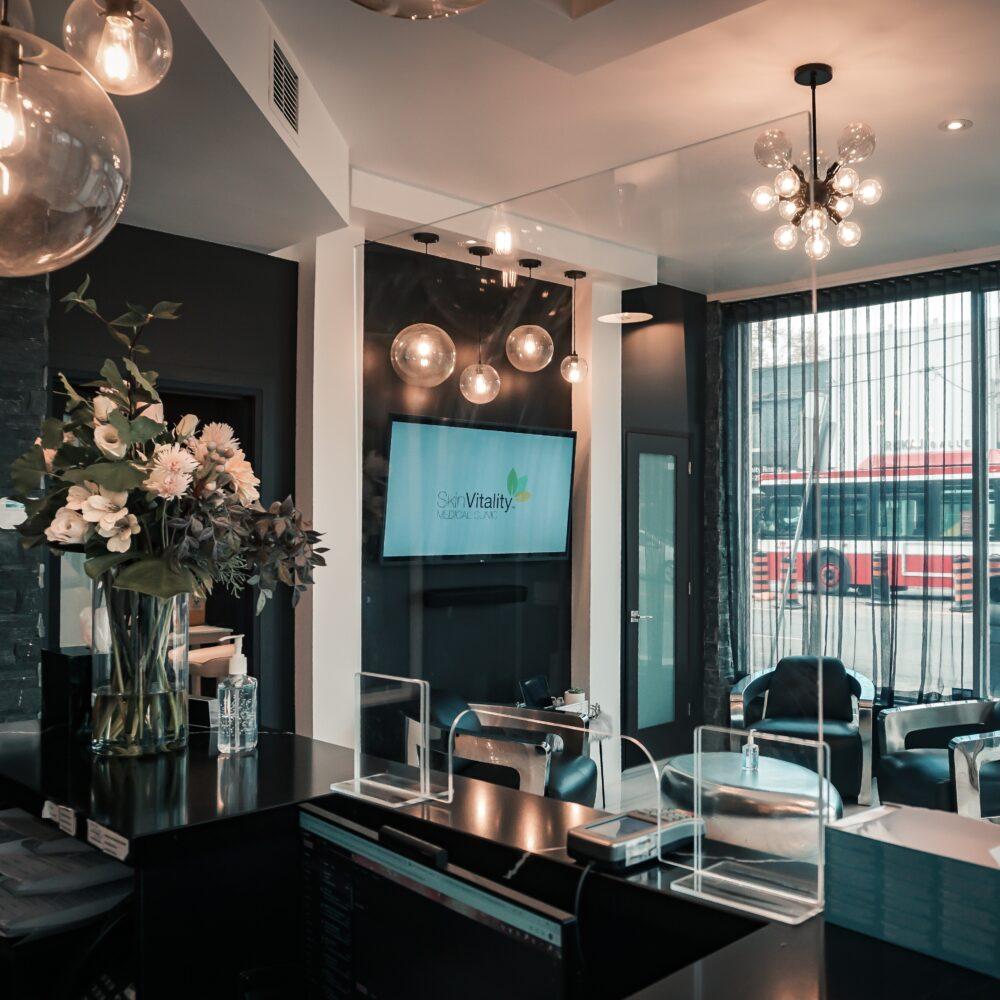 Skin Vitality Toronto Reception Area