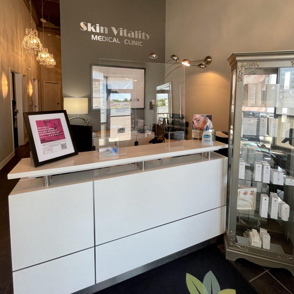 Skin Vitality Kitchener Front Desk