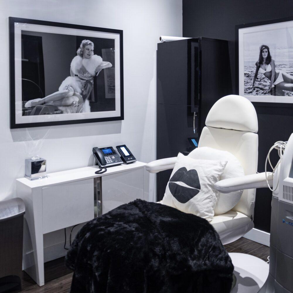 Skin Vitality London Treatment Room