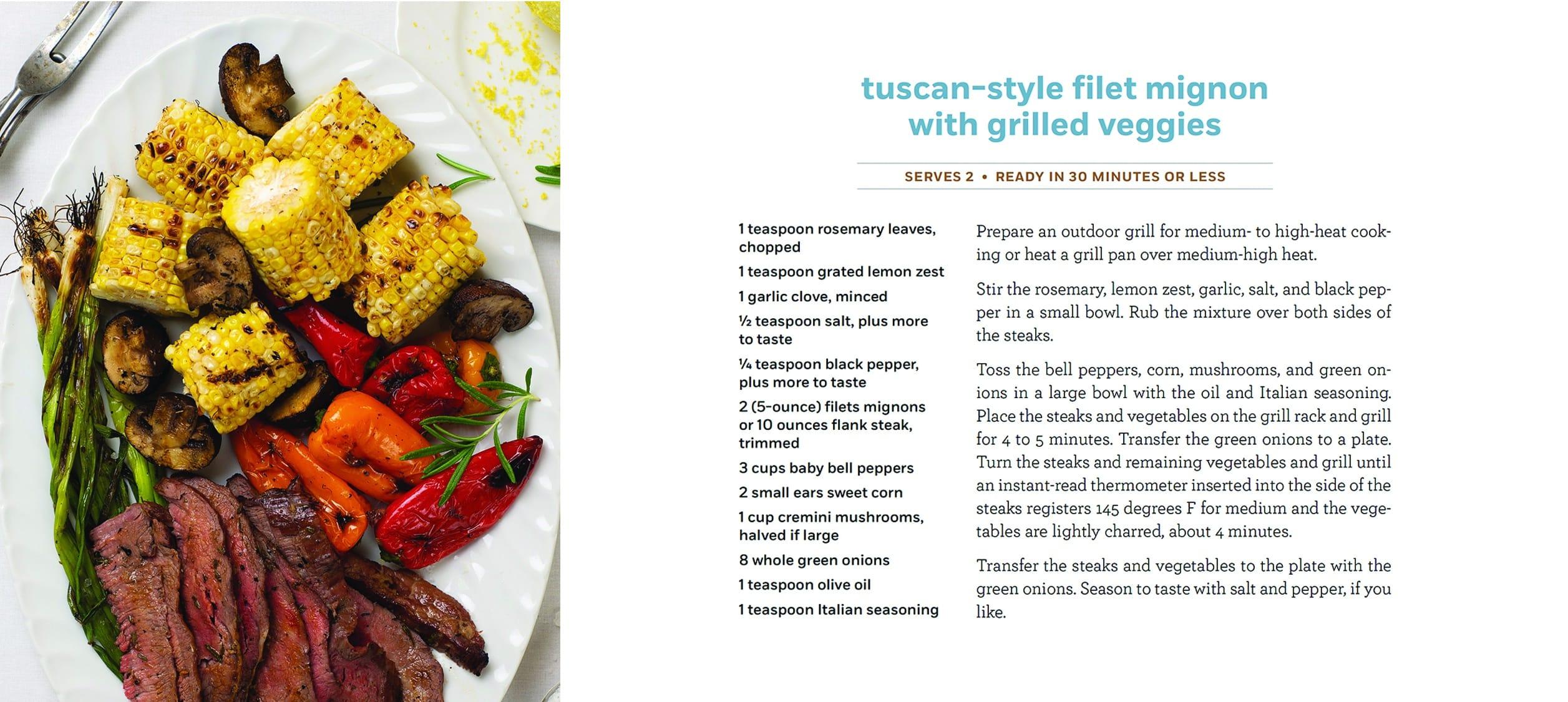 Tuscan Filet Mignon
